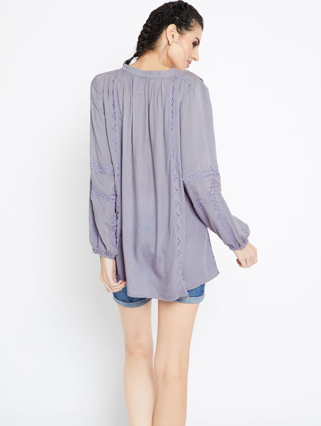 Boho Chic Top - MDAQ15GY
