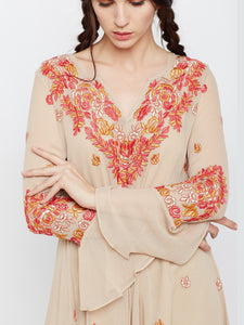Let's Get Nude Tunic Dress MDSA72N