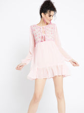 Load image into Gallery viewer, Pretty In Pink Tunic Dress MDSA8715