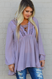 Lilac Spirit Long Sleeves Top