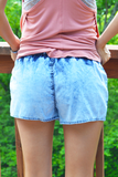 Sand Dollar Chambray Shorts
