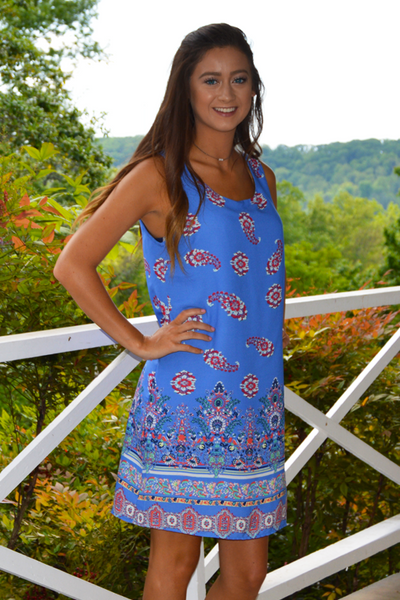 Going Paisley Dress - FINAL SALE - NO RETURN OR EXCHANGE