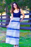 Ocean Waves Maxi Dress - FINAL SALE - NO RETURN OR EXCHANGE