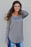 Ever So Soft Long Sleeve - Coco