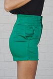 Rising Tides High Waisted Shorts