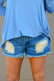 Fearless Denim Shorts