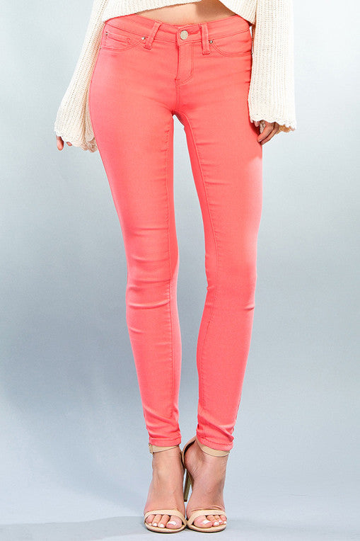 Pink Paradise Hyperstretch Skinny - FINAL SALE - NO RETURN OR EXCHANGE