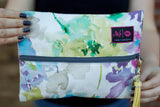 Watercolor Makeup Junkie Bag