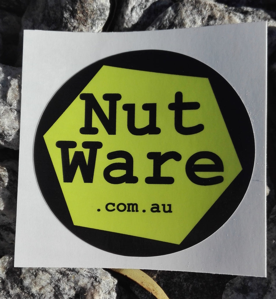NutWare Coloured Wheel Nut Indicators / Green / waterproof vinyl sticker
