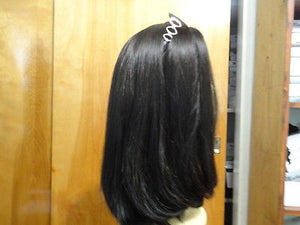 Remy Human Hair Darkest Brown/Black #6/2 - wigs, Women's Wigs - kosher, Malky Wigs - Malky Wigs