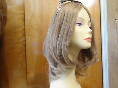 "European Multidirectional 16"" Straight Lightest Brown #16-10 - wigs, Women's Wigs - kosher, Malky - Malky Wigs"