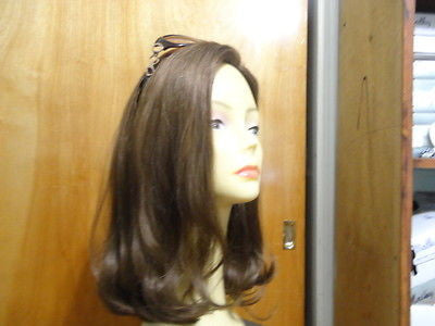 Remy Human Hair Light Brown with Highlights #10/6/8 - wigs, Women's Wigs - kosher, Malky Wigs - Malky Wigs