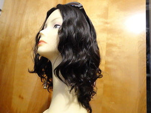 "European Multidirectional 16"" Wavy Natural Soft #1B - wigs, Women's Wigs - kosher, Malky Wigs - Malky Wigs"