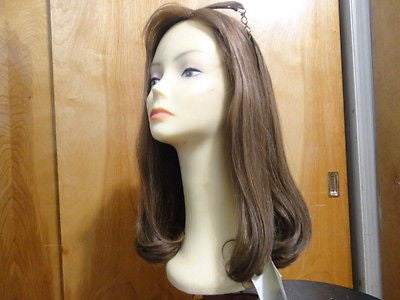 Remy Human Hair Light Brown with Highlights #14/8 - wigs, Women's Wigs - kosher, Malky - Malky Wigs
