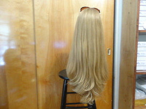 "European Multidirectional 26"" Straight Dirty Blonde #16/10 - wigs, Women's Wigs - kosher, Malky Wigs - Malky Wigs"