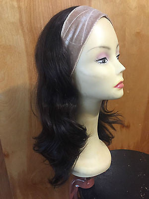 "European BandFall 22"" Dark Brown #2 - wigs, Women's Wigs - kosher, Malky - Malky Wigs"