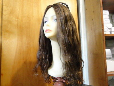 "European Multidirectional 22"" Wavy Medium Brown #8/4 - wigs, Women's Wigs - kosher, Malky - Malky Wigs"