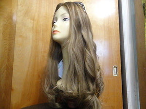 "European Multidirectional 26"" Straight Medium Blond with Highlights #14/8 - wigs, Women's Wigs - kosher, Malky Wigs - Malky Wigs"