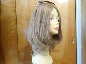 "European Multidirectional 16"" Straight Lightest Brown #16-10 - wigs, Women's Wigs - kosher, Malky Wigs - Malky Wigs"