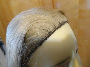 "European BandFall 26"" Straight Blonde with highlights #24/14/12 - wigs, Women's Wigs - kosher, Malky Wigs - Malky Wigs"