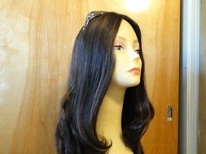 "European Multidirectional 22"" Straight Darkest Brown #6/2 - wigs, Women's Wigs - kosher, Malky Wigs - Malky Wigs"