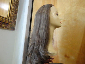 "European BandFall 26"" Straight Light Brown Highlights #14/8 - wigs, Women's Wigs - kosher, Malky Wigs - Malky Wigs"