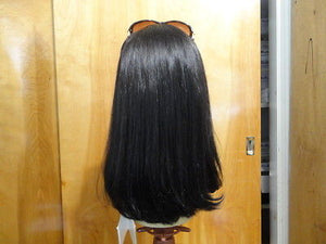 Remy Human Hair Darkest Brown/Black #6-2 - wigs, Women's Wigs - kosher, Malky Wigs - Malky Wigs