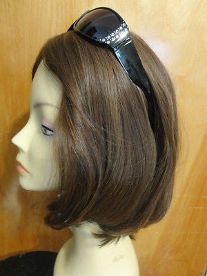 European Multidirectional Short Bob Medium Brown #10/6 - wigs, Women's Wigs - kosher, Malky Wigs - Malky Wigs