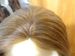 Remy Human Hair Light Brown with Highlights #14/8 - wigs, Women's Wigs - kosher, Malky Wigs - Malky Wigs