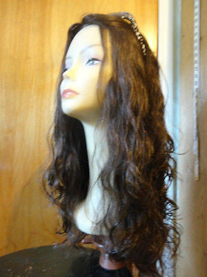 "European Multidirectional 22"" Wavy Medium Brown #4 - wigs, Women's Wigs - kosher, Malky - Malky Wigs"