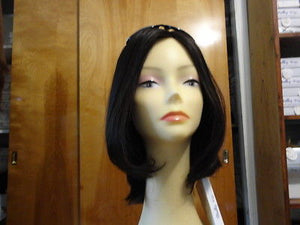 European Multidirectional Short Bob Darkest Brown #2 - wigs, Women's Wigs - kosher, Malky Wigs - Malky Wigs