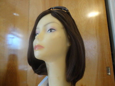 European Multidirectional Short Bob Medium Brown #10/6 - wigs, Women's Wigs - kosher, Malky - Malky Wigs