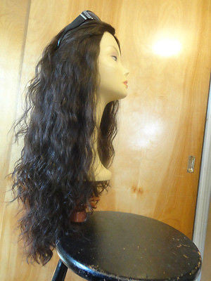"European Multidirectional 26"" Wavy Medium Brown #4 - wigs, Women's Wigs - kosher, Malky - Malky Wigs"