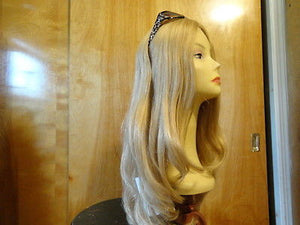 "European Multidirectional 22"" Straight Blonde with Highlights #24/14/12 - wigs, Women's Wigs - kosher, Malky Wigs - Malky Wigs"