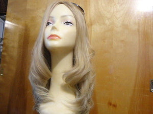 "European Multidirectional 20"" Straight Lightest Blond with Highlights #12/14 - wigs, Women's Wigs - kosher, Malky Wigs - Malky Wigs"