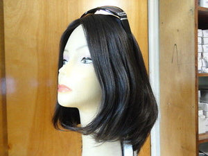 European Multidirectional Short Bob Dark Brown #1B - wigs, Women's Wigs - kosher, Malky Wigs - Malky Wigs