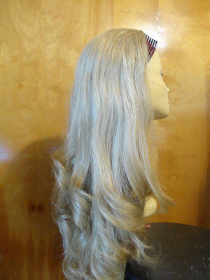 "European BandFall 26"" Straight Blonde with highlights #24/14/12 - wigs, Women's Wigs - kosher, Malky - Malky Wigs"