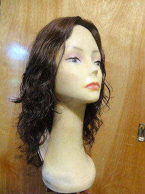 "European Multidirectional 16"" Wavy Medium Brown #8/6 - wigs, Women's Wigs - kosher, Malky - Malky Wigs"