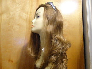 "European Multidirectional 22"" Straight Strawberry Blonde #30 - wigs, Women's Wigs - kosher, Malky Wigs - Malky Wigs"
