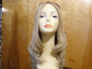 "European Multidirectional 22"" Straight Medium Blonde with Highlights #12-14 - wigs, Women's Wigs - kosher, Malky Wigs - Malky Wigs"