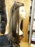 "European Multidirectional 28"" Straight Light Brown #6 - wigs, Women's Wigs - kosher, Malky - Malky Wigs"