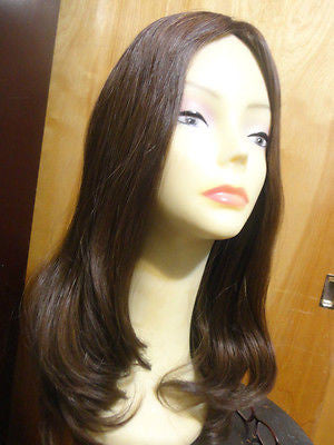 "European Multidirectional 22"" Straight Reddish Brown #8/6 - wigs, Women's Wigs - kosher, Malky Wigs - Malky Wigs"
