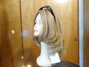 "European Multidirectional 16"" Straight Light Blonde with Highlights #16/10 STREAKS - wigs, Women's Wigs - kosher, Malky Wigs - Malky Wigs"
