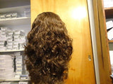 "European Multidirectional 16"" Wavy Brown with Highlights - wigs, Women's Wigs - kosher, Malky - Malky Wigs"