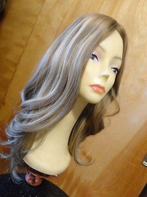 "European Multidirectional 22"" Straight Blonde with Highlights #16/10 - wigs, Women's Wigs - kosher, Malky - Malky Wigs"