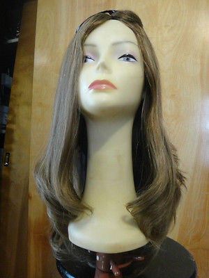 "European Multidirectional 22"" Straight Medium Blonde with Highlights #14/8 - wigs, Women's Wigs - kosher, Malky Wigs - Malky Wigs"