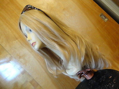 "European Multidirectional 24"" Straight Blonde with Highlights #24/14/12 - wigs, Women's Wigs - kosher, Malky - Malky Wigs"