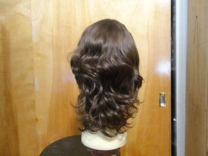 "European Multidirectional 16"" Wavy Medium Brown #6 - wigs, Women's Wigs - kosher, Malky Wigs - Malky Wigs"