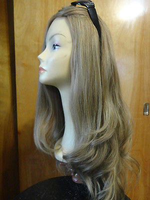 "European Multidirectional 27"" Straight Light Brown/Ashy Blonde #16/10 - wigs, Women's Wigs - kosher, Malky - Malky Wigs"