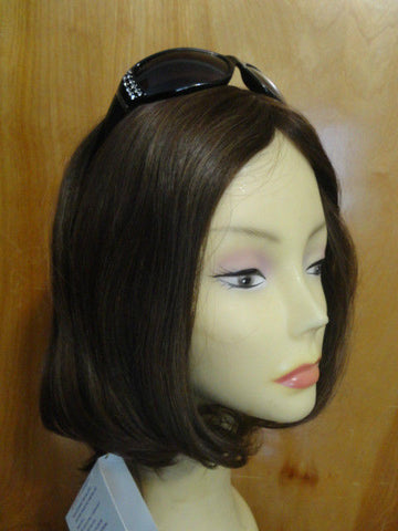 European Multidirectional Short Bob Brown #10/6 - wigs, Women's Wigs - kosher, Malky - Malky Wigs